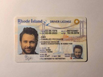 rhode island drivers license front ovi hologram