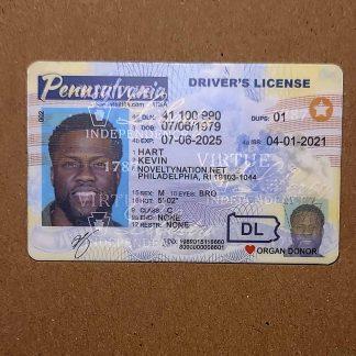 pennsylvania drivers license front OVI hologram